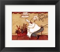 Framed Buon Appetito
