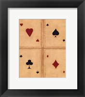 Framed Aces
