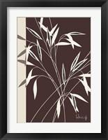 Framed Whispering Bamboo I