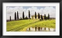 Framed Tuscan Hillside