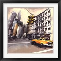 Framed New York - Feu Rouge