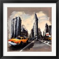 Framed New York - Flatiron Building