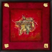 Framed Rouge baiser