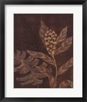 Tropical Night II Framed Print