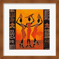 Framed Three Gatherers
