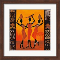 Framed Three Gatherers