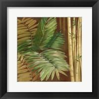 Framed Bamboo & Palms II
