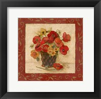 Je Fantaisie en Rouge II Framed Print