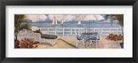 Ocean Vista I Framed Print