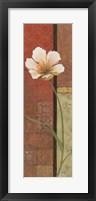 Framed Une Fleur