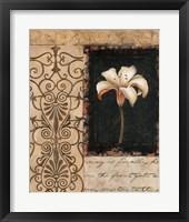 Night Florescence I Framed Print