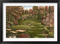 Framed Country Club Landscape