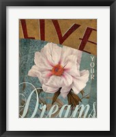Framed Live Your Dreams