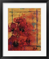 Artistic Poppy I Framed Print