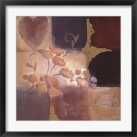 Autumn Accent Floral II Framed Print