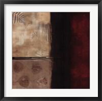 Russet Fern II Framed Print