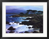 Framed Coastline At Pacific Grove