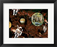 Framed Astronaut View