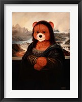 Framed Mona Bear