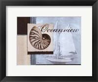 Scrapbook Shell I Framed Print