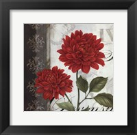 Etude en Rouge I - mini Framed Print