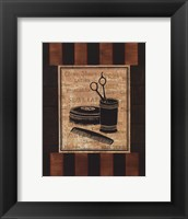 Haircuts - mini Framed Print