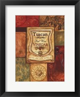 Tuscan Vinegar Framed Print