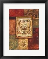 Framed Tuscan Vinegar