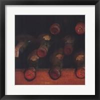 Framed Vintage Wine Cellar I