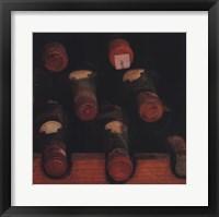 Framed Vintage Wine Cellar II