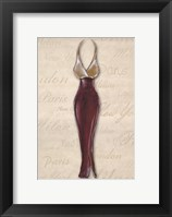 Framed Fashion Dress II