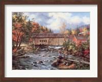 Framed Tunbridge, Vermont
