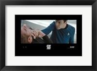 Framed Star Trek XI - style W
