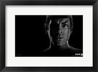Framed Star Trek XI - style O