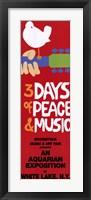 Framed Woodstock - 3 days