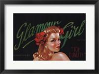 Framed Glamour Girl