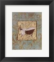 Bathtub Parfum II Framed Print