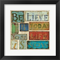 Framed Believe & Hope I