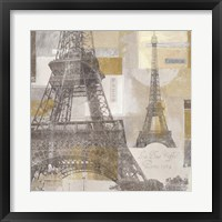 Framed Eiffel Tower III