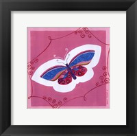Framed Butterfly I