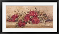 Framed Roses To Remember