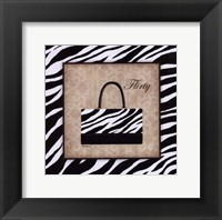 Flirty Framed Print