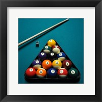 Framed Pool Table I