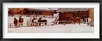 Framed Wyoming Winter Morning