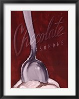 Framed Chocolate Sundae
