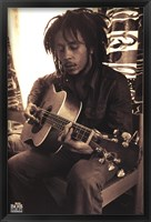 Framed Bob Marley - Sepia