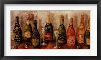 Framed Metallic Wines