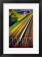Japanese Railways Framed Print