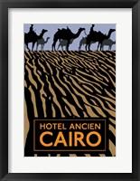 Framed Hotel Ancien - Cairo