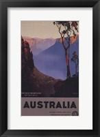 Framed Australia - Blue Mountains